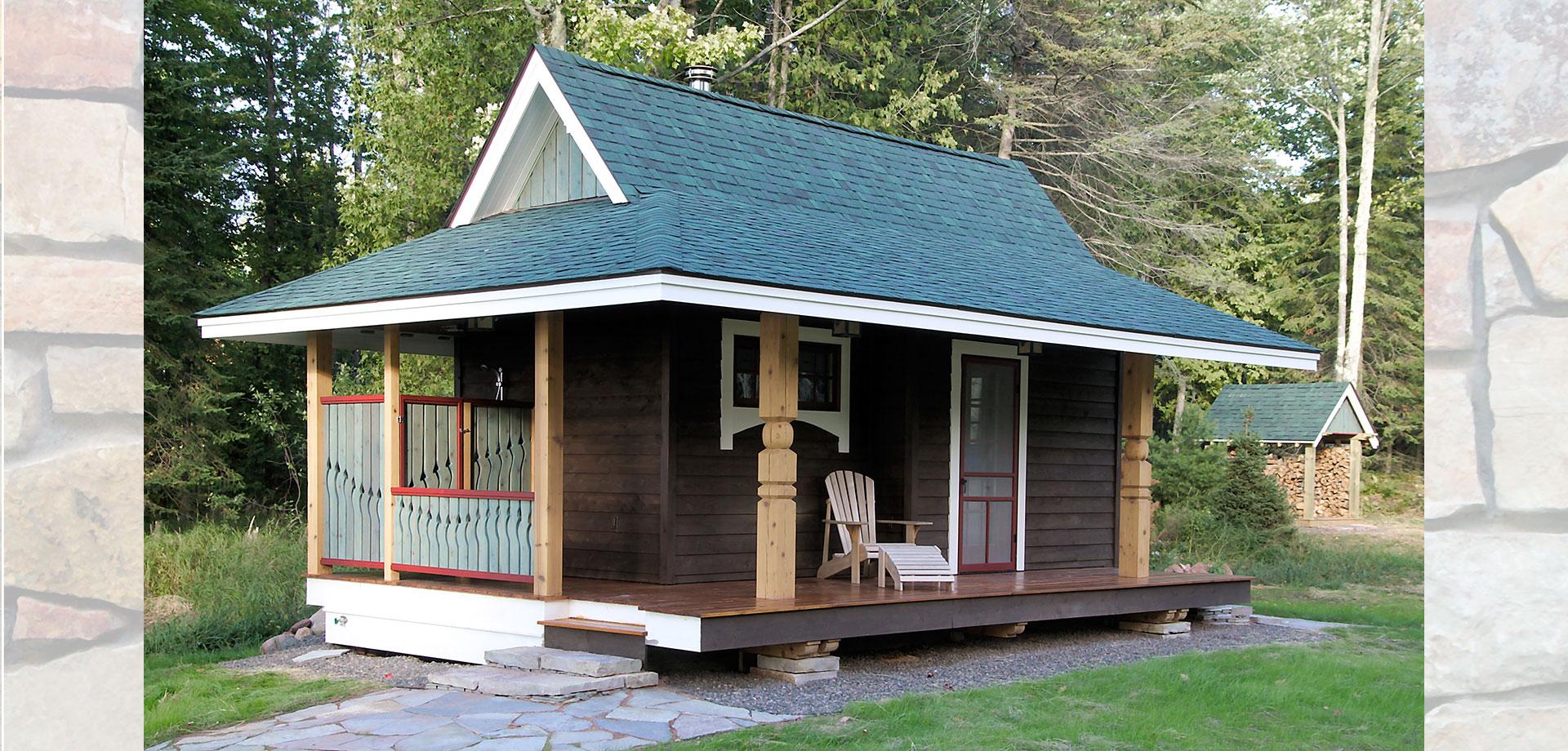 madeline island cottage
