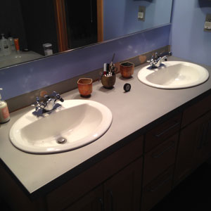 Bathroom Countertop Magic Sala Architects Inc