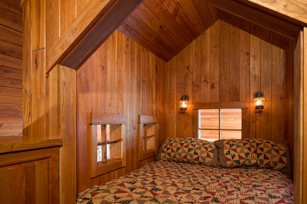 Sweet Dreams At The Cabin   SALA Architects Inc.
