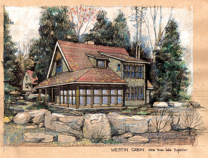 How The Westin Cabin Was Inspired By Edwin Lundie Sala